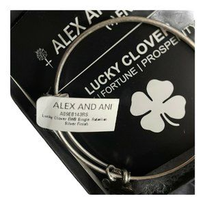 Alex and Ani Womens Gold Bangle Bracelet OS